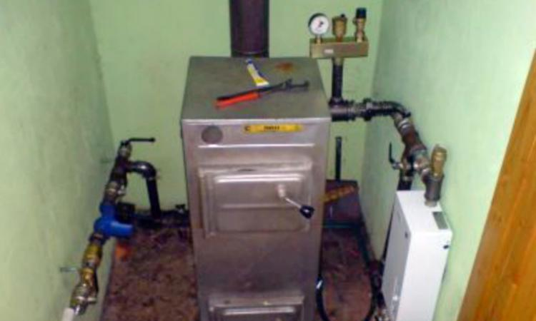 Как установить котел отопления своими руками