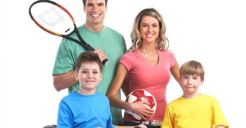 мама папа я спортивная семья фото